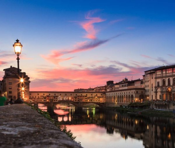 evening walk in Florence