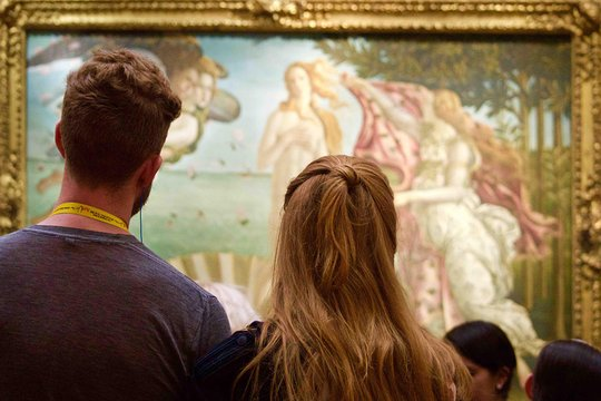 Uffizi Gallery Tour with ArtViva