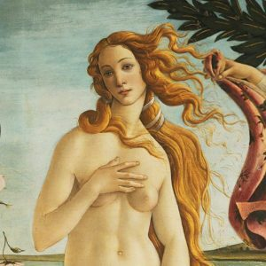 Botticelli Venus at Uffizi tour