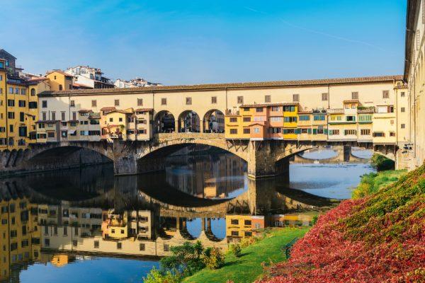 ponte Vecchio, walk in Florence