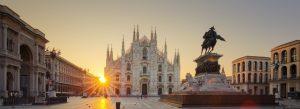 Milan Duomo sunrise