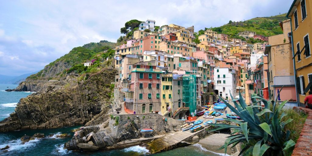 small village in the cinque terre coast