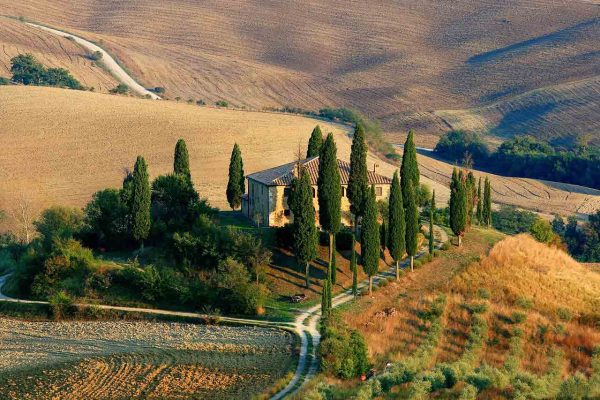 stunning views in our Tuscany tours