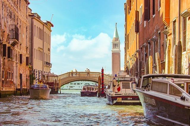 explore Venice canal