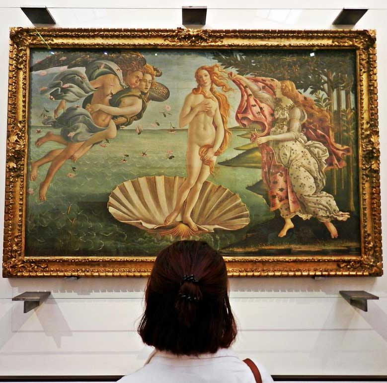 Botticelli Venus: one of the best highlights of Florence tour