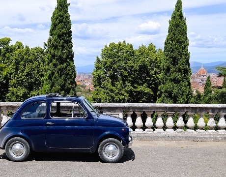best fiat 500 tur in Florence