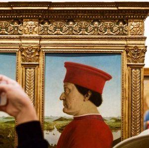 Uffizi tour in Florence