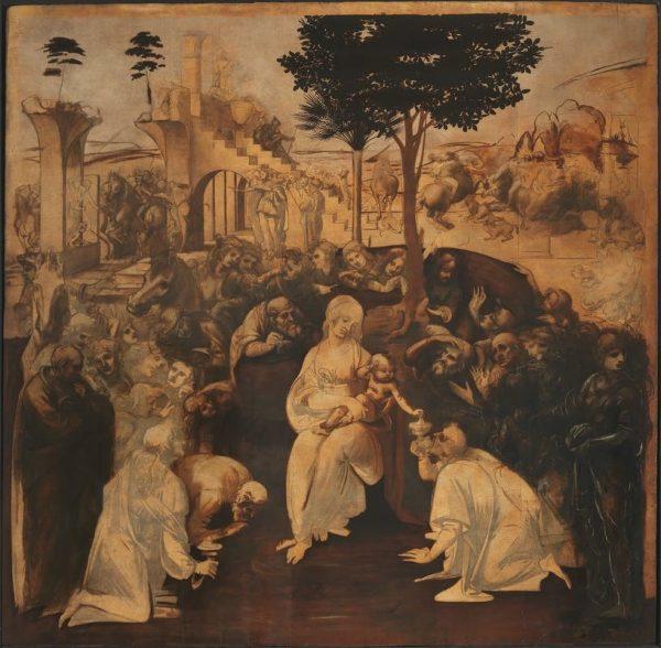 Adoration of the Magi Leonardo da Vinci