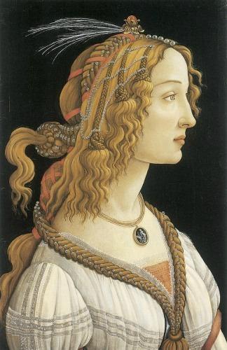 Simonetta Vespucci famous woman in Florence