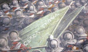the banner with cerca trova