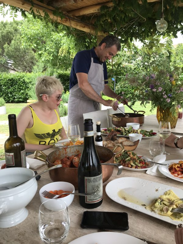 gourmet lunch tuscany