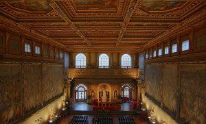 Vasari's murals in the Salone dei 500