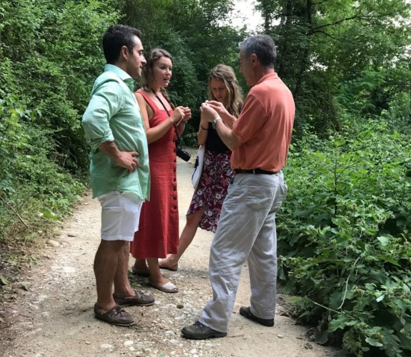 foraging tuscany