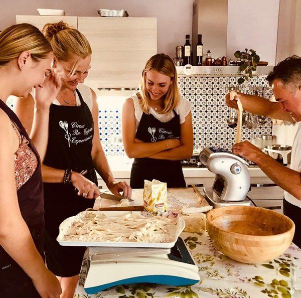 vegan cooking class florence