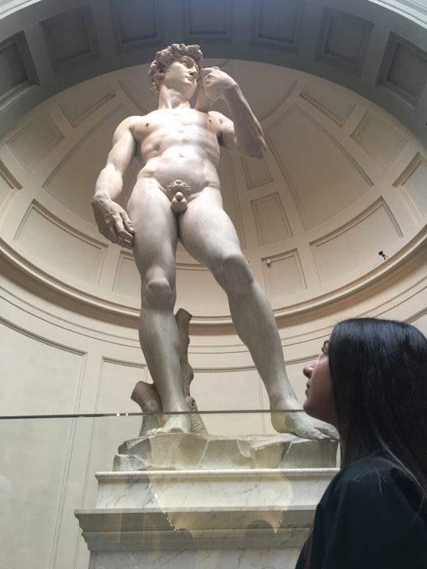 Michelangelo David Sculpture