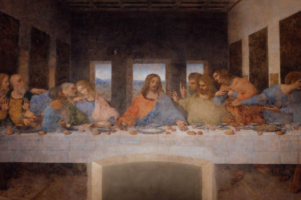 the last supper online experience leonardo da vinci