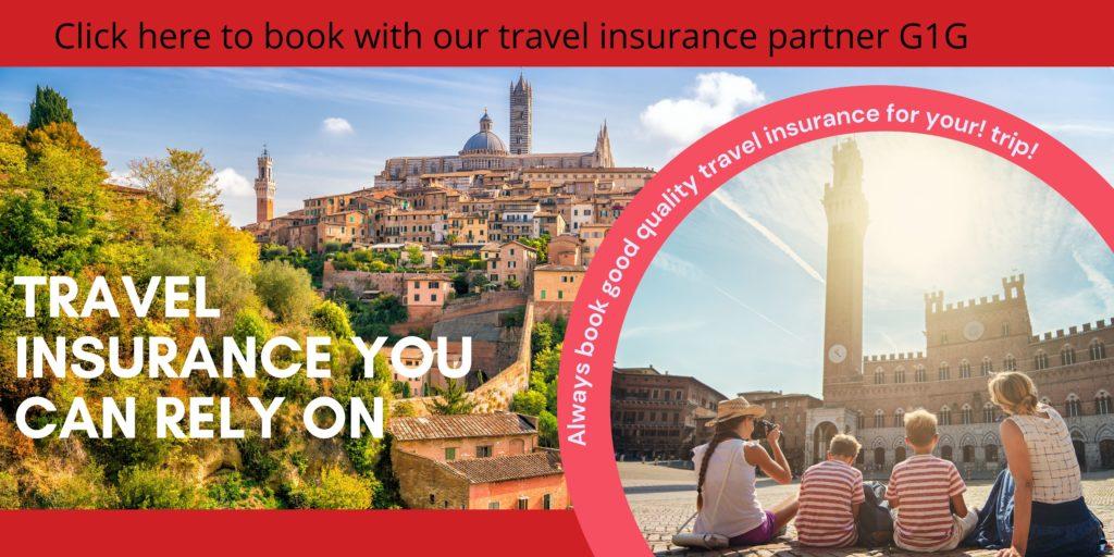 G1G travel insurance